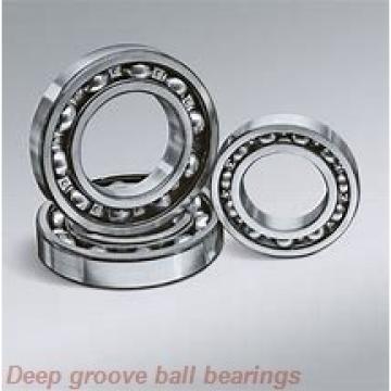 300 mm x 360 mm x 25 mm  NSK B300-7 deep groove ball bearings