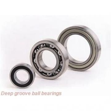 35 mm x 55 mm x 10 mm  NKE 61907 deep groove ball bearings