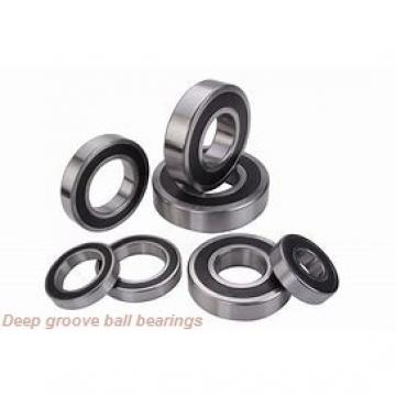 85 mm x 210 mm x 52 mm  KOYO 6417 deep groove ball bearings