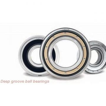12 mm x 21 mm x 5 mm  ZEN 61801 deep groove ball bearings