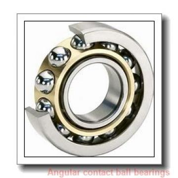 160 mm x 340 mm x 68 mm  ISO 7332 A angular contact ball bearings