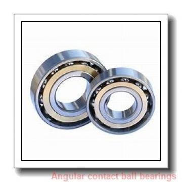 40 mm x 74 mm x 36 mm  ISO DAC40740036/34 angular contact ball bearings