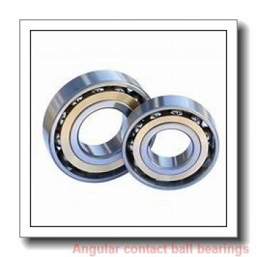 85 mm x 130 mm x 22 mm  SKF S7017 ACB/P4A angular contact ball bearings