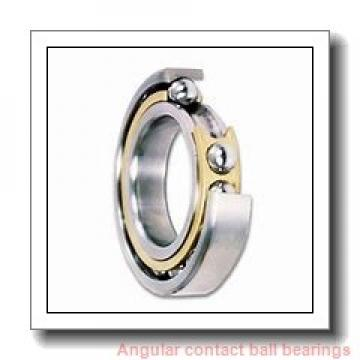 160 mm x 240 mm x 48 mm  SKF BTW 160 CM/SP angular contact ball bearings
