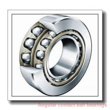 30,000 mm x 72,000 mm x 19,000 mm  NTN-SNR 7306 angular contact ball bearings
