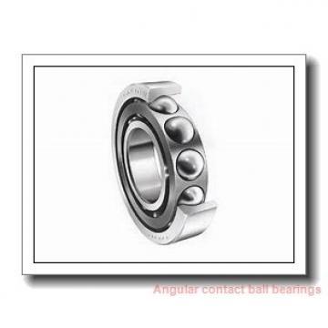 55 mm x 90 mm x 18 mm  FAG HSS7011-E-T-P4S angular contact ball bearings