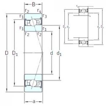 95 mm x 145 mm x 24 mm  SNFA HX95 /S 7CE3 angular contact ball bearings