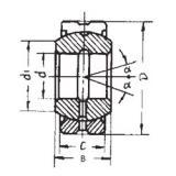 260 mm x 400 mm x 205 mm  FBJ GEG260ES-2RS plain bearings